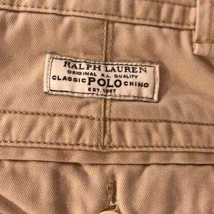 Polo by Ralph Lauren Shorts - Ralph Lauren Polo Khaki Men's Shorts Size 33